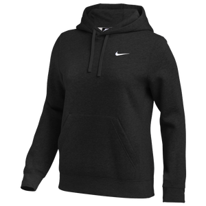 Nike Team Club Fleece Hoodie - Women's - Black/White
