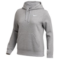Nike Team Club Fleece Hoodie - Women's - Grey