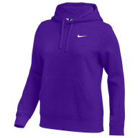 Nike Team Club Fleece Hoodie - Women's - Purple