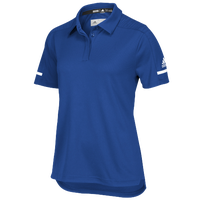 adidas Team Iconic Coaches Polo - Women's - Blue / White