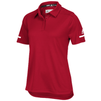 adidas Team Iconic Coaches Polo - Women's - Red / White