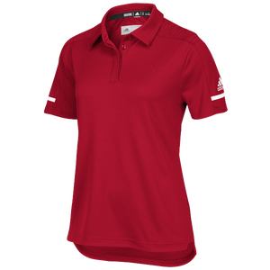 adidas Team Iconic Coaches Polo - Women's - Power Red/White