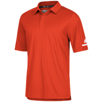 adidas Team Iconic Coaches Polo - Men's - Orange / White