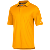 adidas Team Iconic Coaches Polo - Men's - Gold / White