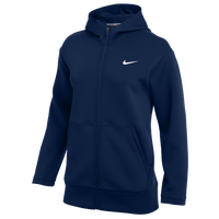Nike Team Authentic Fleece Full-Zip Hoodie - Women's - Navy