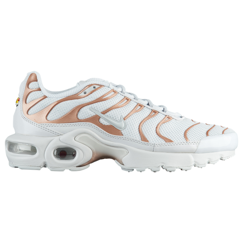 Nike Air Max Plus - Girls' Grade School - Casual - Shoes - Pure  Platinum/Pure Platinum/Met Red Bronze
