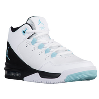 2327dd31c1a Jordan Flight Origin 2 - Girls  Grade School - White   Light Blue