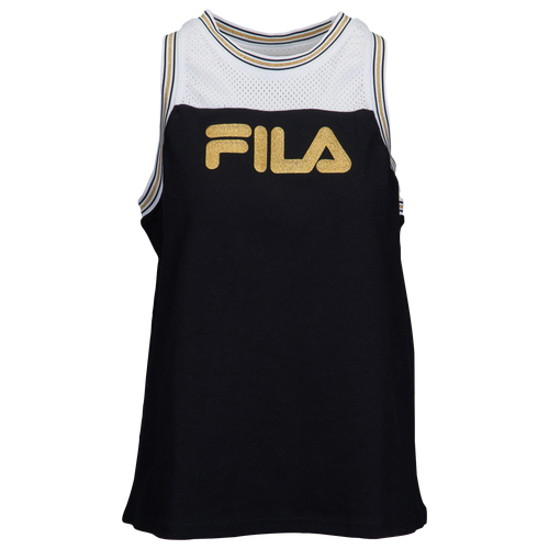 Fila Yolanda Tank - Women's Casual - Black/White 18113001