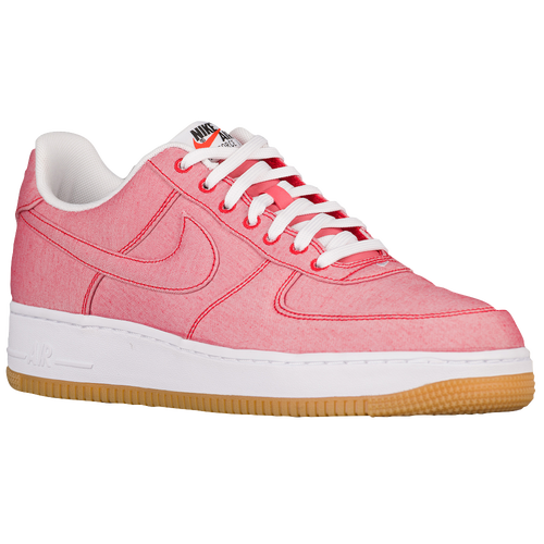 Nike Air Force 1 LV8 - Men's Casual - Game Red/Game Red/Gum Light Brown 18152604