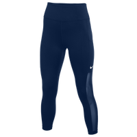 Nike Team Authentic One Crop Mesh Pants - Women's - Navy