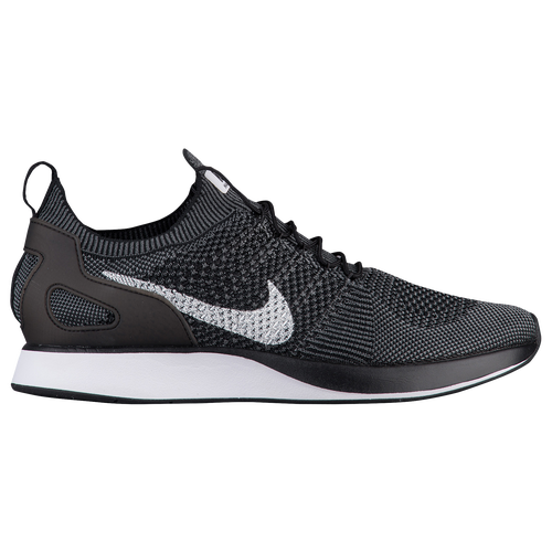 nike roshe one flyknit premium - black\/dark grey\/white boston
