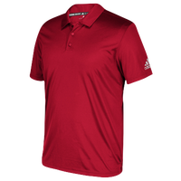 adidas Grind Polo - Boys' Grade School - Red / Red