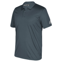 adidas Team Grind Polo - Men's - Grey / Grey