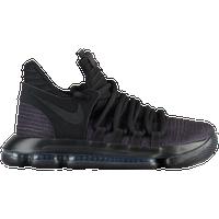Nike KD X - Boys\u0027 Grade School - Kevin Durant - Black / Black