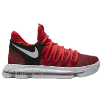 Nike KD X - Boys\u0027 Grade School - Kevin Durant - Red / Grey
