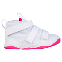 b322f634f950 Nike LeBron Soldier XI - Boys  Toddler - Lebron James - White   Pink
