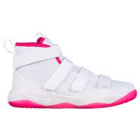 41d66628d59 Nike LeBron Soldier 11 - Boys  Preschool - Lebron James - White   Pink