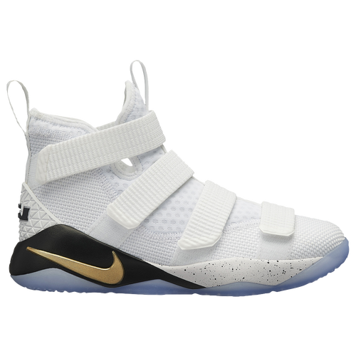 the latest d07a2 65ff2 ... spain nike lebron soldier 11 boys grade school basketball shoes james  lebron white gold black b0e17