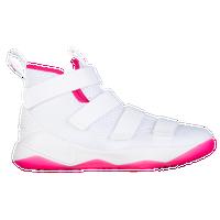 ea2d5c0e4cf8 Nike LeBron Soldier 11 - Boys  Grade School - Lebron James - White   Pink