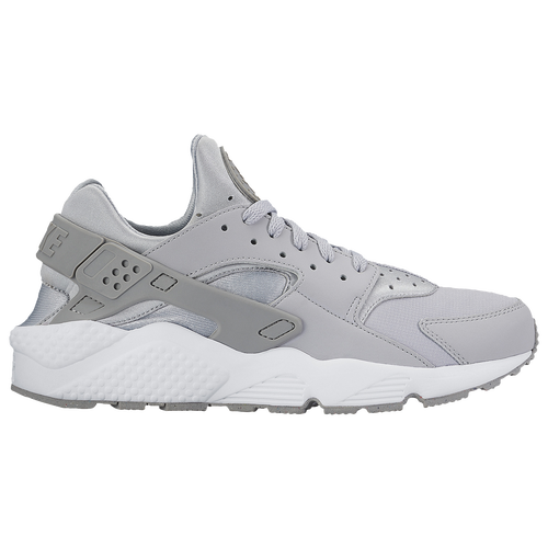 nike huarache mens black and grey