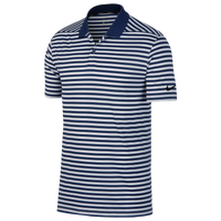 Nike Dri-Fit Victory Stripe Golf Polo - Men's - Navy / White