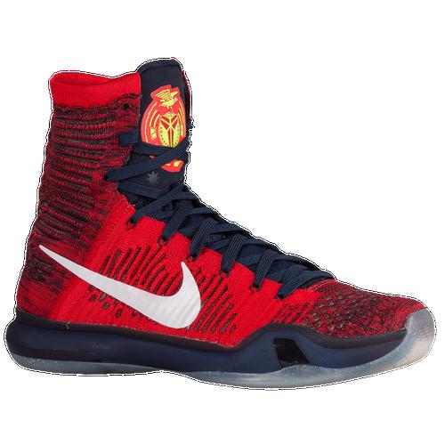 new product 305aa 957f9 Nike Kobe X Elite - Men s - Basketball - Shoes - Bryant, Kobe - University  Red White Obsidian Bright Crimson