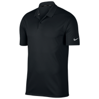 Nike Dri-Fit Victory Solid Golf Polo - Men's - Black / Silver