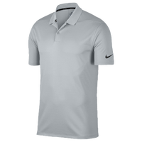 Nike Dri-Fit Victory Solid Golf Polo - Men's - Grey / Black