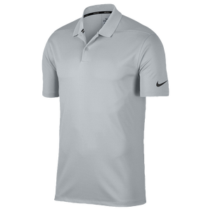 Nike Dri-Fit Victory Solid Golf Polo - Men's - Wolf Grey/Black