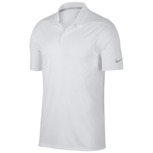 Nike Dri-Fit Victory Solid Golf Polo - Men's - White/Black