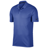 Nike Dri-Fit Victory Solid Golf Polo - Men's - Blue / Blue
