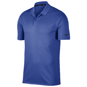 Nike Dri-Fit Victory Solid Golf Polo - Men's - Game Royal/Black