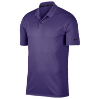Nike Dri-Fit Victory Solid Golf Polo - Men's - Purple / Purple