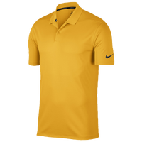 Nike Dri-Fit Victory Solid Golf Polo - Men's - Gold / Gold