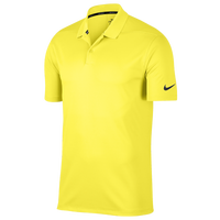 Nike Dri-Fit Victory Solid Golf Polo - Men's - Yellow