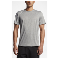 Nike Legend 2.0 Short Sleeve Football T-Shirt - Men's - Grey / Grey