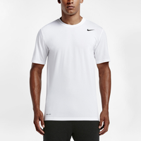 Nike Legend 2.0 Short Sleeve Football T-Shirt - Men's - All White / White