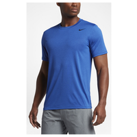 Nike Legend 2.0 Short Sleeve Football T-Shirt - Men's - Blue / Blue