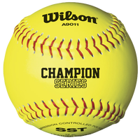 "Wilson Fastpitch 12"" NFHS Softball .47/375 - Women's - Yellow / Yellow"