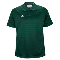 adidas Climalite Team Select Polo - Men's - Dark Green / Dark Green