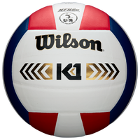 Wilson Team K1 Gold Game Volleyball - White