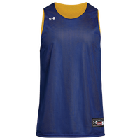 Under Armour Team Triple Double Reversible Jersey - Men's - Blue / Gold