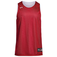 Under Armour Team Triple Double Reversible Jersey - Men's - Red / White