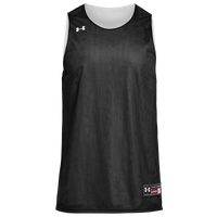 Under Armour Team Triple Reversible Double Jersey - Boys' Grade School - Black / White