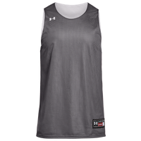 Under Armour Team Triple Double Jersey - Boys' Grade School - Grey / White