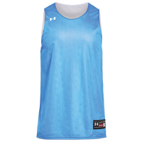 Under Armour Team Triple Double Jersey - Boys' Grade School - Light Blue / White