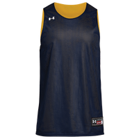 Under Armour Team Triple Reversible Double Jersey - Boys' Grade School - Navy / Gold