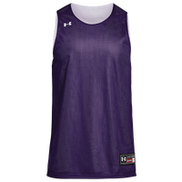 Under Armour Team Triple Double Jersey - Boys' Grade School - Purple / White