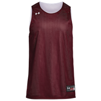 Under Armour Team Triple Reversible Double Jersey - Boys' Grade School - Maroon / White