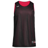 Under Armour Team Triple Reversible Double Jersey - Boys' Grade School - Black / Red
